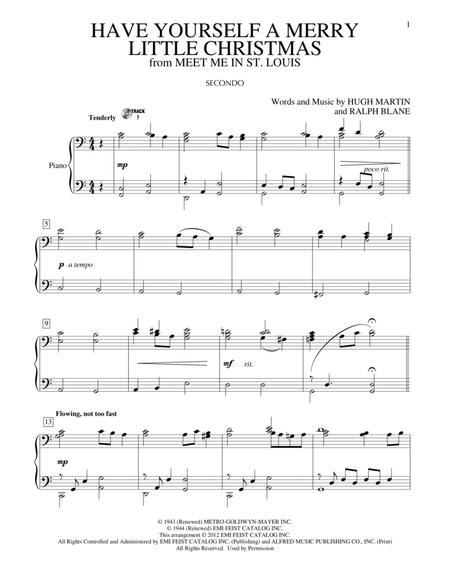 by ralph blane and frank sinatra christmas holiday pnodt 6 pages published by hal leonard digital sheet music have yourself a merry little - Have Yourself A Merry Little Christmas Frank Sinatra