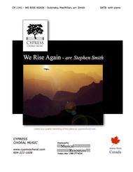 We Rise Again (SATB)