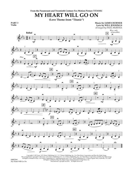 Violin violin chords my heart will go on : Celine Dion sheet music books scores (buy online).