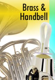 Easter Hymn of Praise - Brass and Handbells Score and Parts
