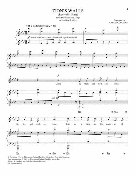 Aaron Copland sheet music books scores (buy online)