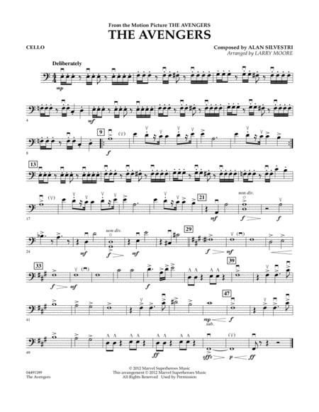 The Avengers (Movie) sheet music to download and print