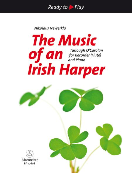 sheet music the music of an irish harper for recorder. Black Bedroom Furniture Sets. Home Design Ideas