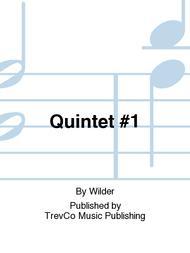 Quintet #1 sheet music
