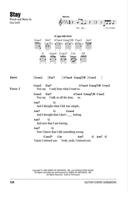 Lisa Loeb Sheet Music To Download And Print World Center Of