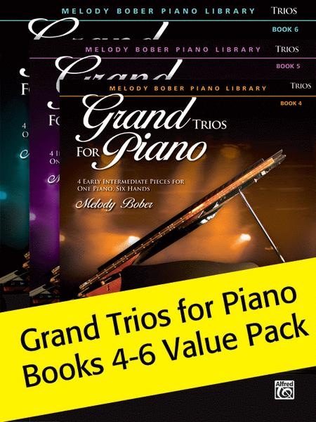 Intermediate Belwin 6 Piano Trios from the Alfred and Myklas Libraries