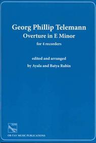 Overture in E Minor sheet music