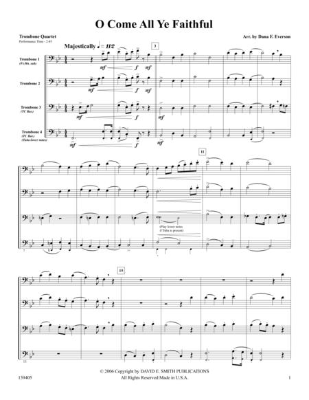 O Come All Ye Faithful Sheet Music To Download And Print World