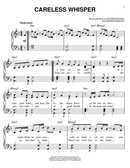 Buy Sheet Music George-Careless