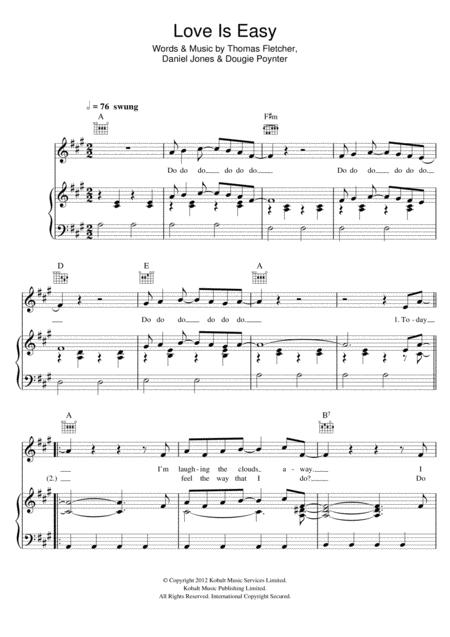 Mcfly Sheet Music To Download And Print World Center Of Digital