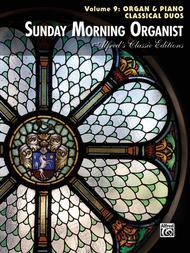 Sunday Morning Organist, Volume 9