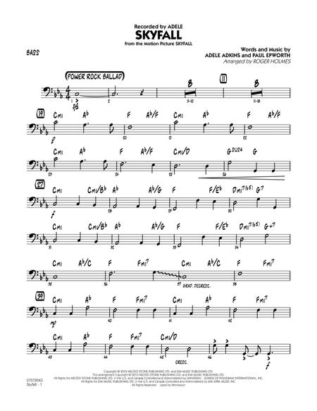 Download Digital Sheet Music of Skyfall for