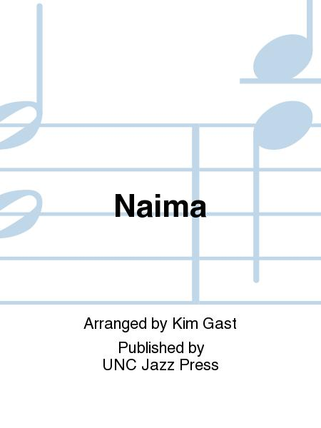 Sheet music: Naima (Jazz Ensemble)