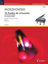 Moritz Moszkowski  Sheet Music 15 Virtuoso Studies, Op. 72 Song Lyrics Guitar Tabs Piano Music Notes Songbook