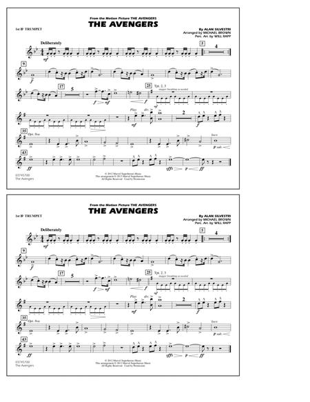 Download Digital Sheet Music of marching band for Trumpet