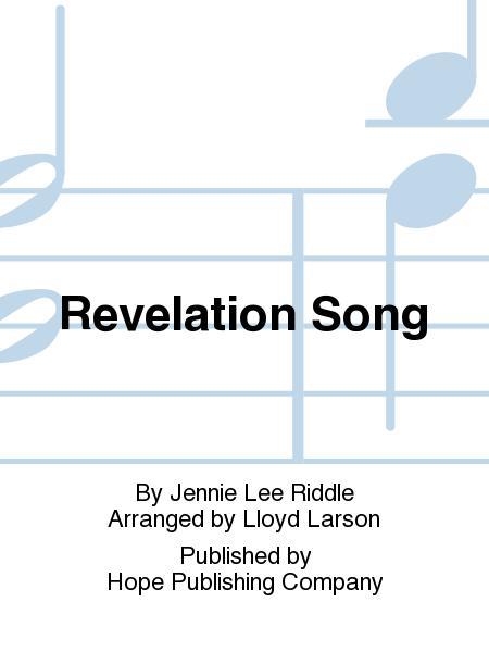 Sheet Music Revelation Song