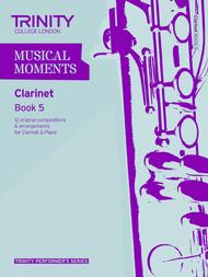 Musical Moments - Book 5 (clarinet) sheet music