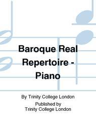 Baroque Real Repertoire - Piano sheet music