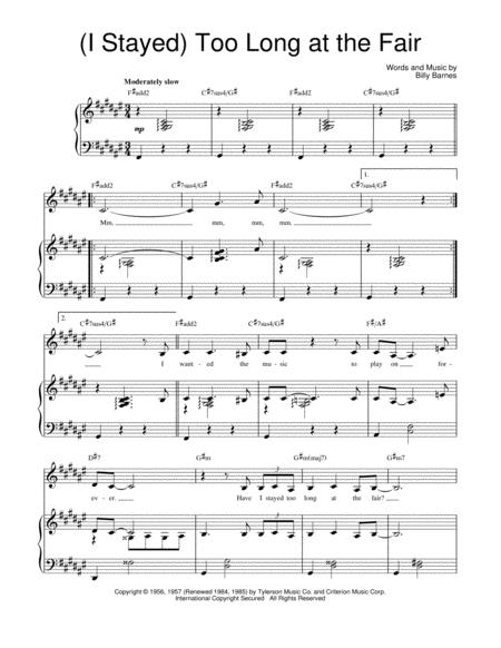 Download Digital Sheet Music Of The Fray Piano Vocal And Guitar For