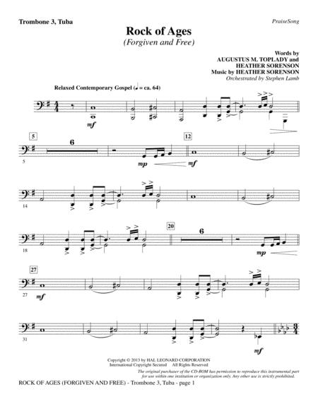 Download Digital Sheet Music of Tuba Hymn for Trumpet, Tuba (duet)