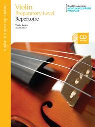 Violin Series: Preparatory Violin Repertoire sheet music