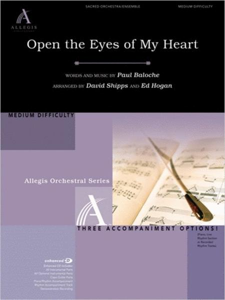 open the eyes of my heart sheet music pdf