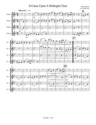 It Came Upon A Midnight Clear Sheet Music 1