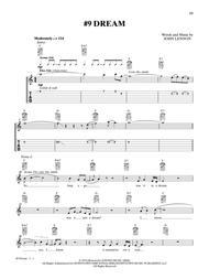 #9 Dream sheet music