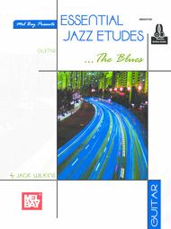 Essential Jazz Etudes..The Blues - Guitar sheet music