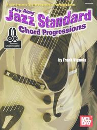 Play-Along Jazz Standard Chord Progressions sheet music
