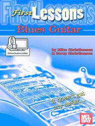 First Lessons Blues Guitar sheet music