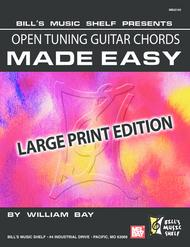 Open Tuning Guitar Chords Made Easy, sheet music