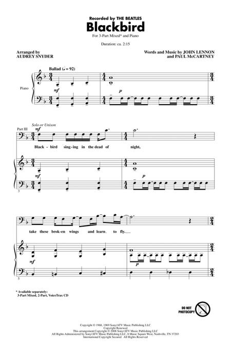 Paul McCartney and Wings sheet music to download and print