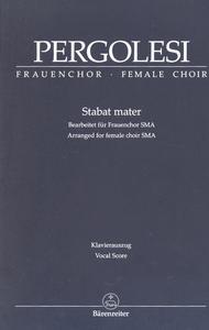 Stabat mater (Arranged for female choir (SMA))