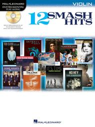 Various  Sheet Music 12 Smash Hits Song Lyrics Guitar Tabs Piano Music Notes Songbook