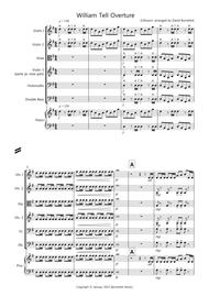 William Tell Overture for String Orchestra sheet music