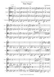 Tasty Tango for String Quartet