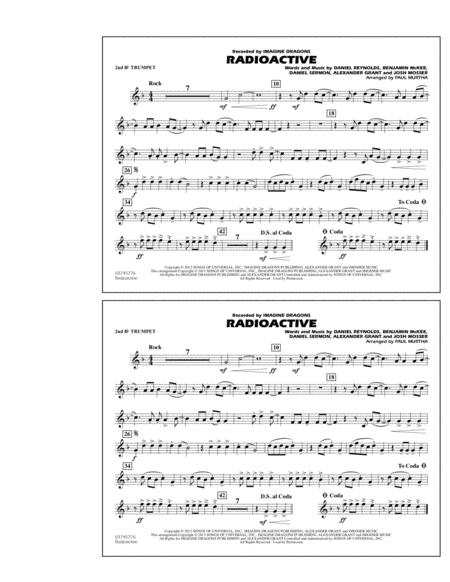 Download Digital Sheet Music of trumpet march for Marching band