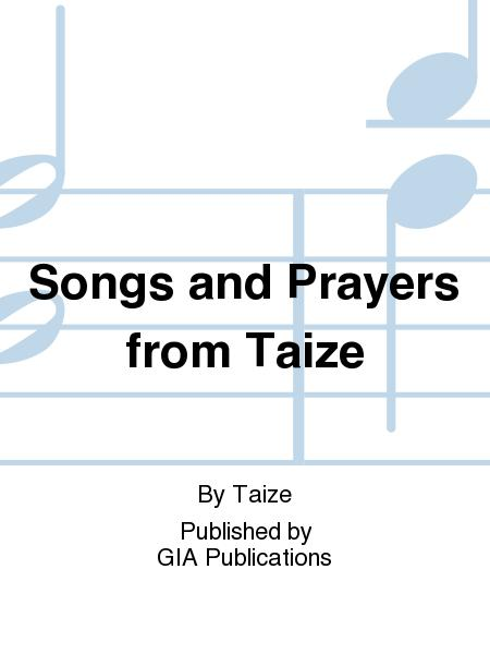 songs and prayers from taize pdf