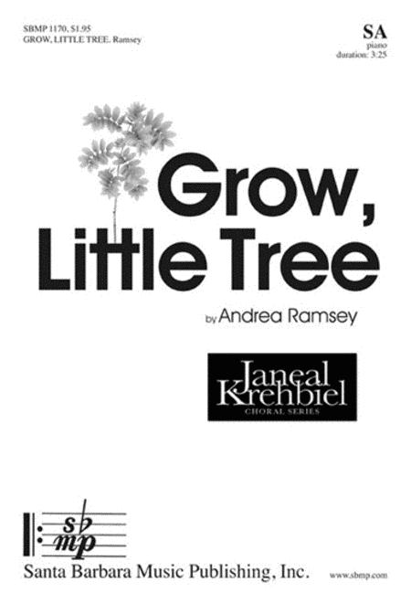 Sheet music: Grow, Little Tree (SA, Piano)