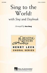 Sing to the World! sheet music