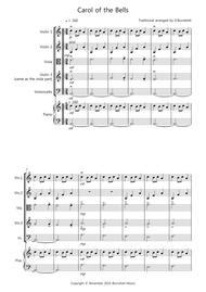 Carol of the Bells for String Quartet