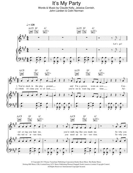 Download Digital Sheet Music of Jessie S for Piano, Vocal and Guitar