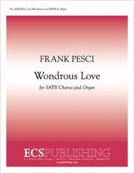 Wondrous Love sheet music