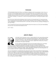 John H. Beck  Sheet Music 10 Intermediate Snare Drum Solos Song Lyrics Guitar Tabs Piano Music Notes Songbook