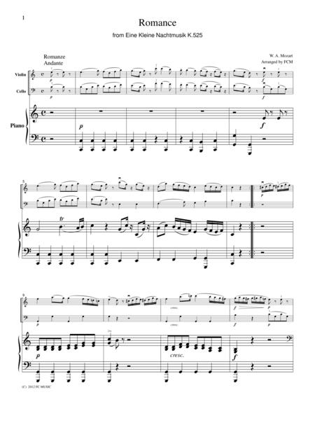 Download Digital Sheet Music for Piano Trio: piano, violin