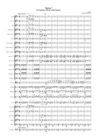 """Cook Eric  Sheet Music """"Bolivar"""" for trombone with the wind orchestra Song Lyrics Guitar Tabs Piano Music Notes Songbook"""