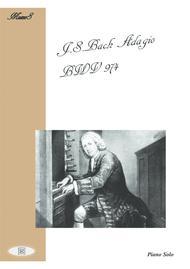 J.S.Bach Adagio BWV 974 for Piano