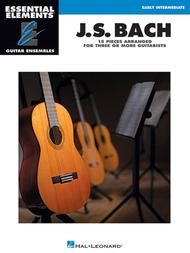 J.S. Bach - 15 Pieces Arranged for Three or More Guitarists