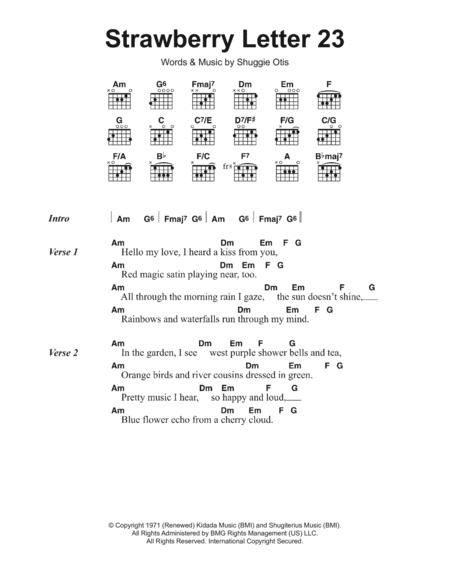 The Brothers Johnson sheet music to download and print - World ...